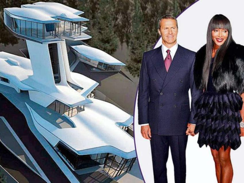 Будущий дом Наоми Кэмпбэлл будет похож на НЛО