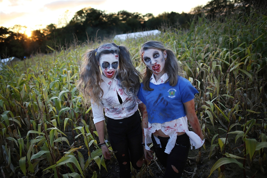 Установление мирового рекорда по количеству зомби на Shocktober Fest