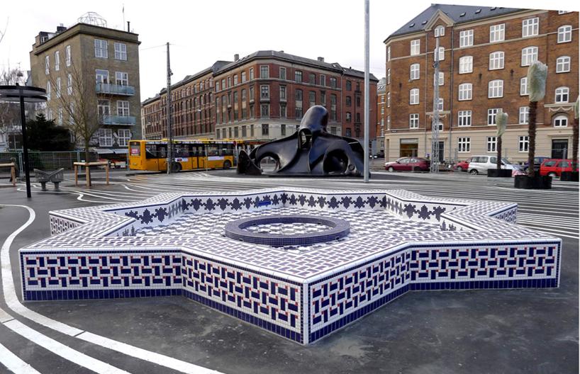 Superkilen - городской парк в Копенгагене