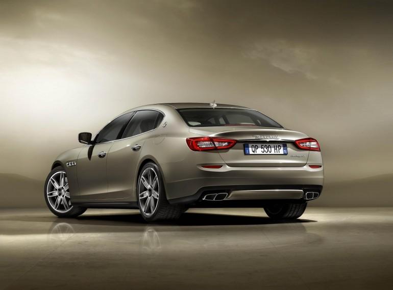 Новый Quattroporte сохранил главные элементы стиля Maserati