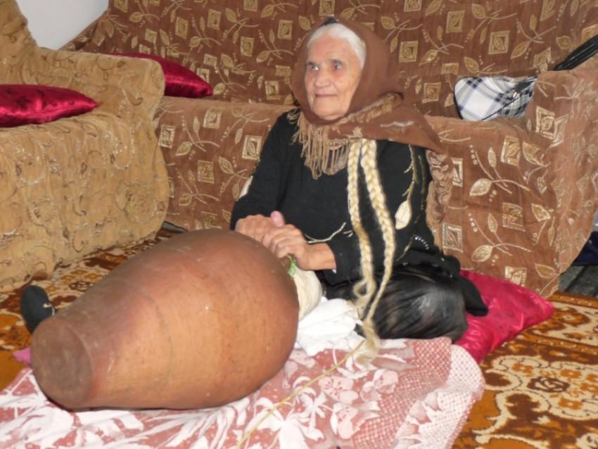 Рубаба Мерзаева, 97 лет