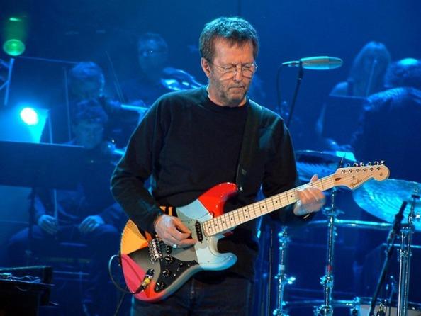 Британский рок-музыкант Эрик Клептон