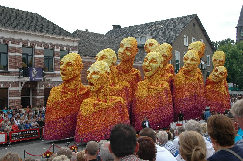 Фестиваль георгин Bloemencorso