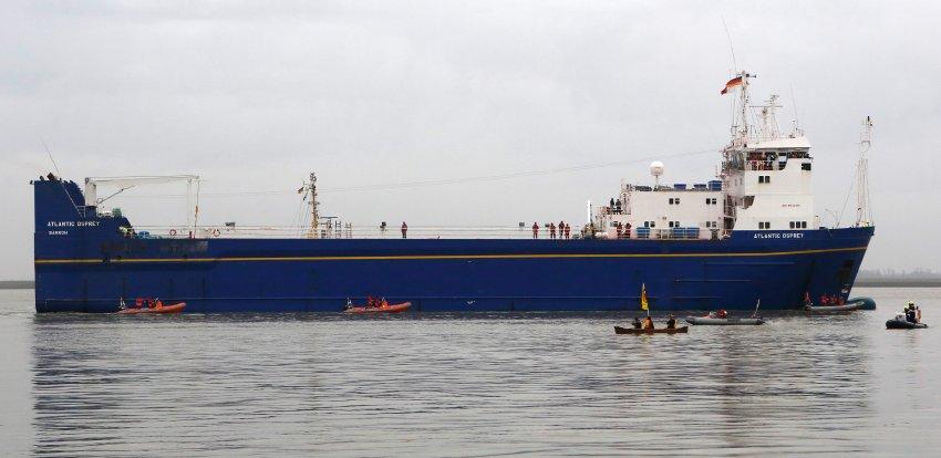 Транспортное судно Atlantic Osprey
