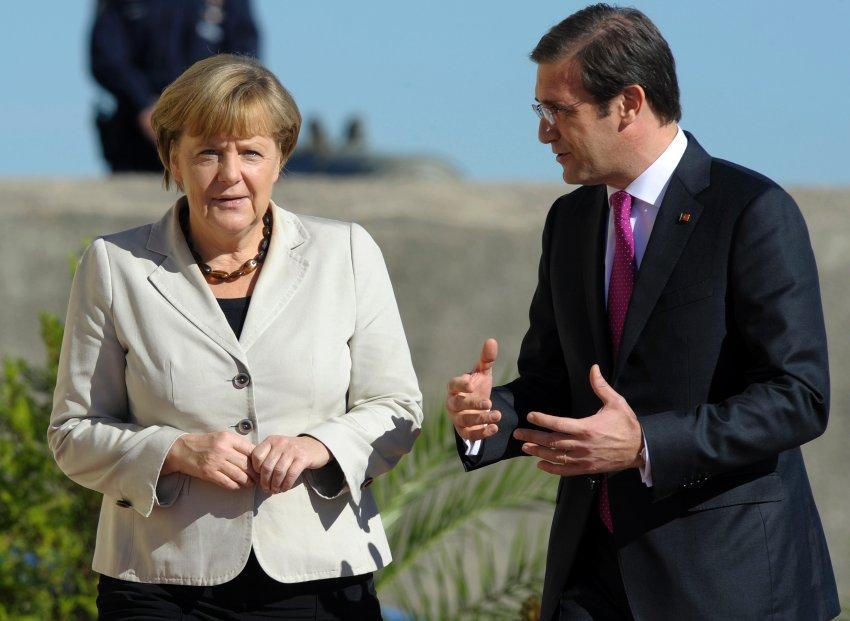 В отличие от простых португальцев Пассуш Коэлью старался всячески угодить Меркель