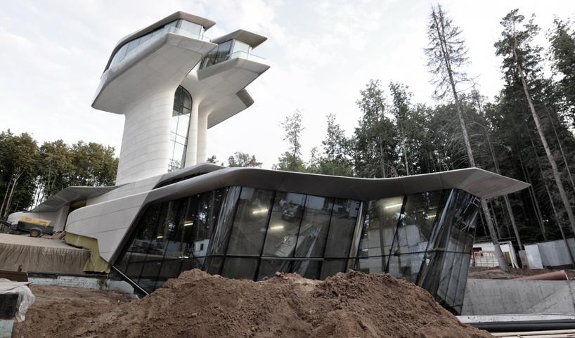 Дом Владислава Доронина для Наоми Кемпбелл