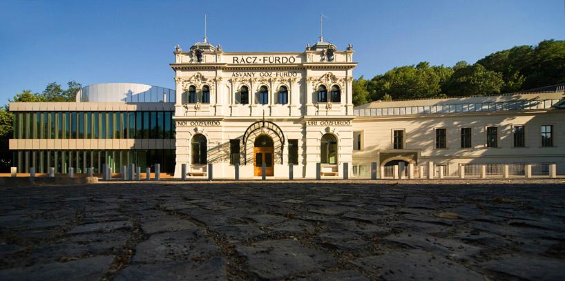 Исторические термальные ванны Racz thermal bath в Будапеште