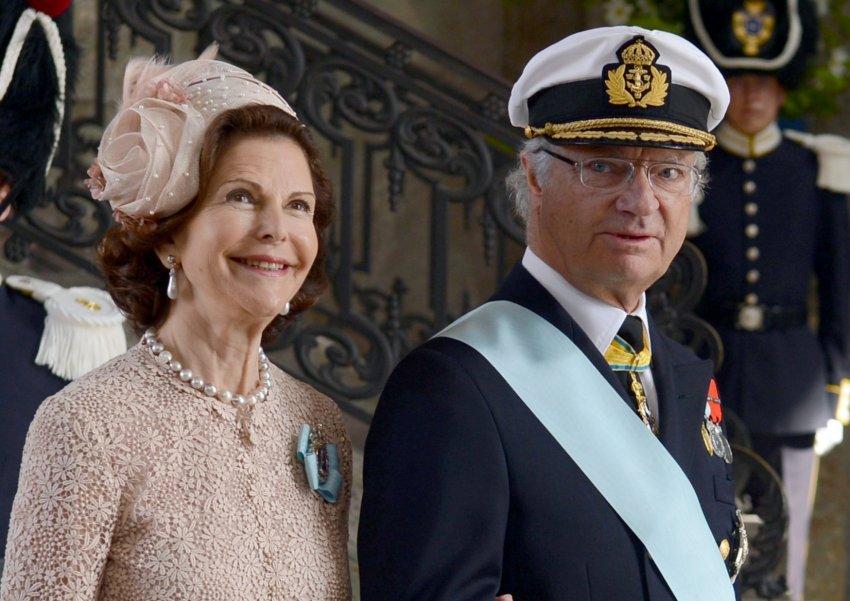 Королева Сильвия и король Карл Густаф