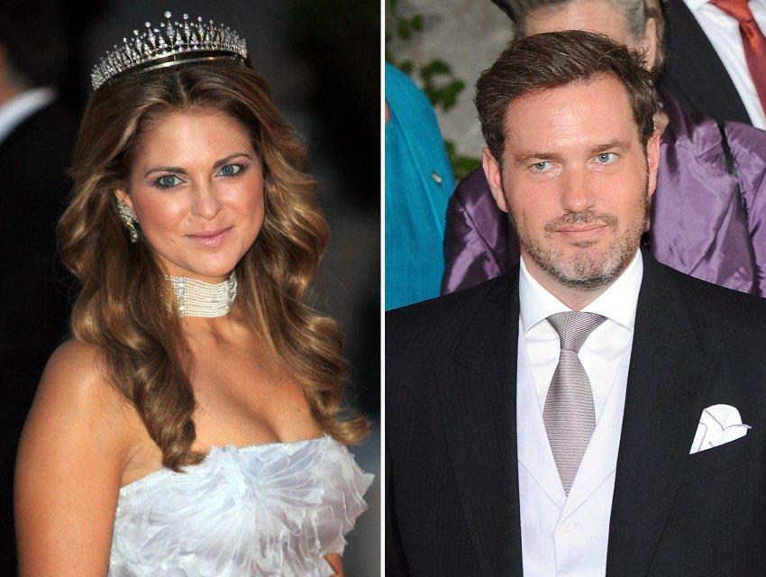 Принцесса Мадлен и её жених Крис О'Нилл