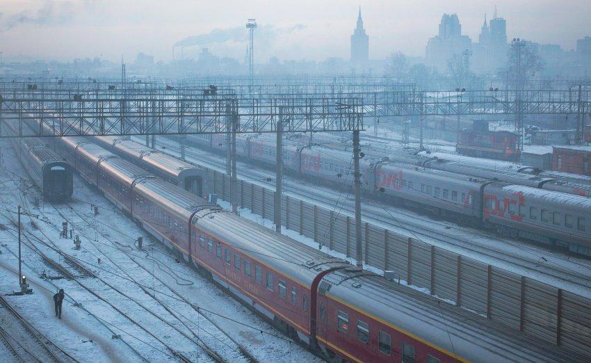 Замёрзшая Москва