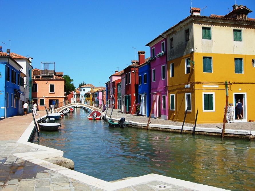 Город Венеция в Италии, фото Smabbage