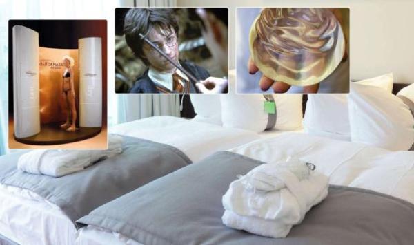 Необычные вещи, забытые в отелях в 2012 году