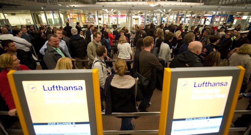 Забастовка в аэропорту Гамбурга