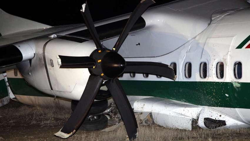 Аварийная посадка в римском аэропорту