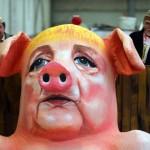 Высмеивание политиков на Кёльнском карнавале