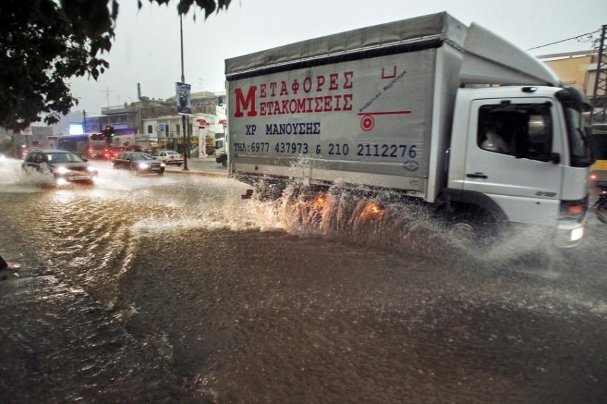Наводнение в Афинах