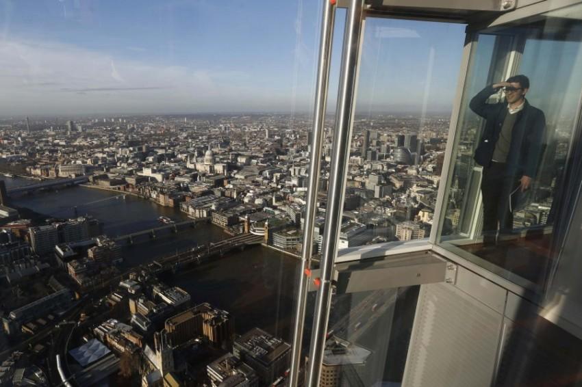 Вид на Лондон с небоскреба