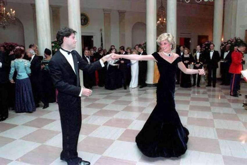 Танец Джона Траволты и Дианы в Белом Доме