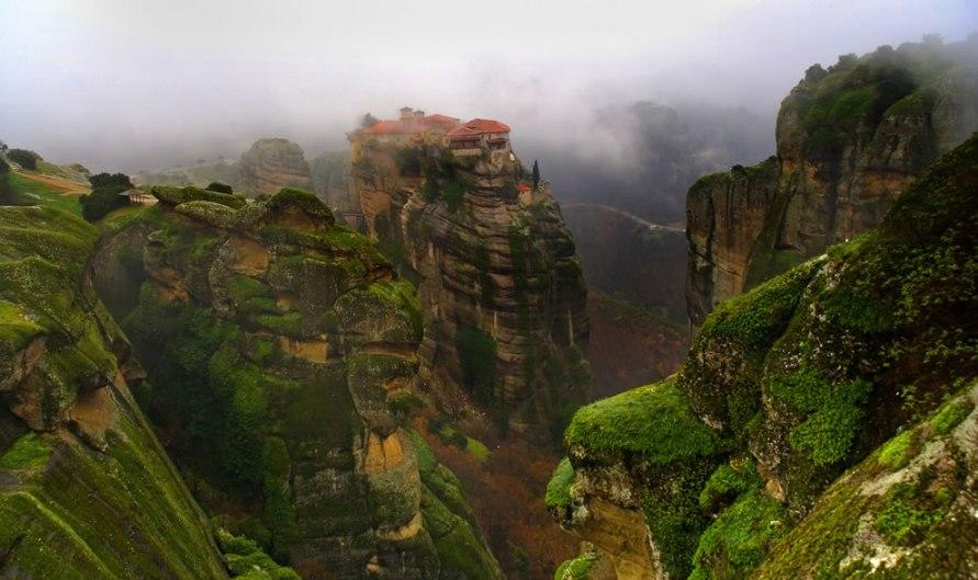 Монастыри Метеоры - Самые красивые места и достопримечательности Греции