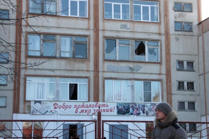 Во многих квартирах разбились окна
