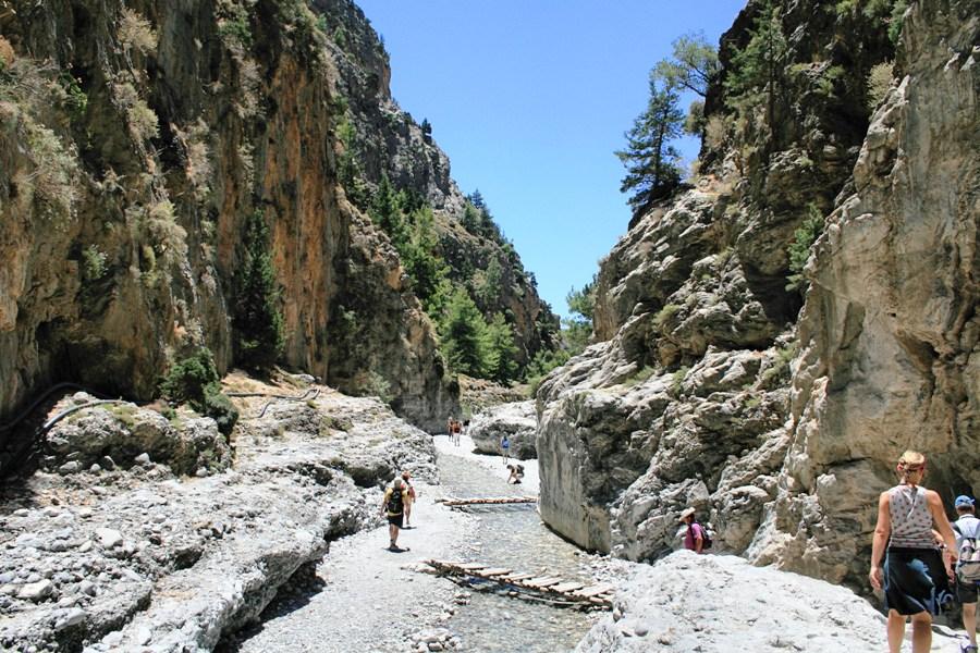 Ущелье Самария - Самые красивые места и достопримечательности Греции
