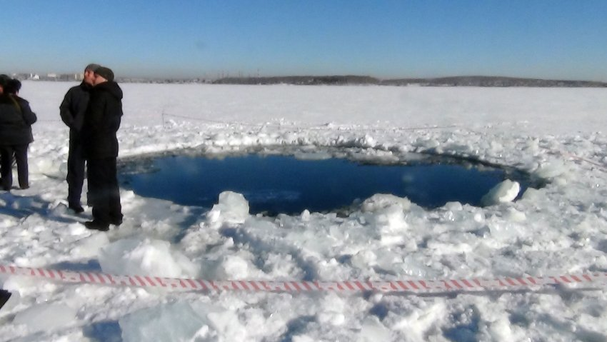 На Урале упал меторит