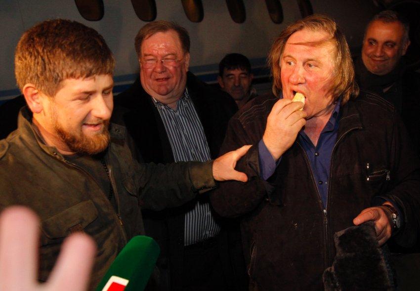 Депардье в гостях у Кадырова