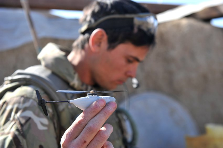 Самый маленький беспилотный вертолет