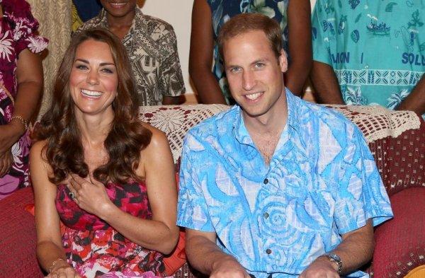 Принц Уильям и его жена Кейт