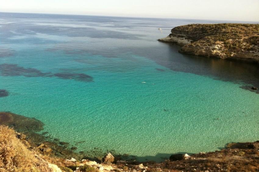 1 место - Spiaggia dei Conigli, Лампедуза