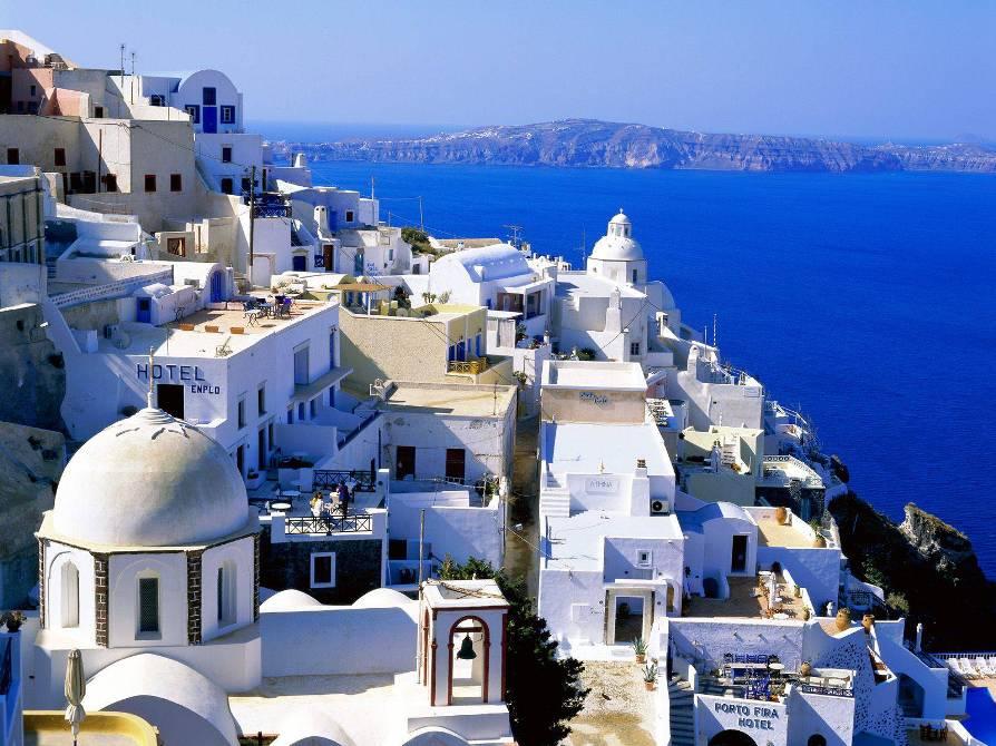 Остров Санторини - Самые красивые места и достопримечательности Греции