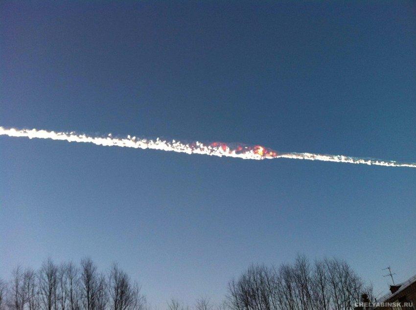 На Урале упал метеорит