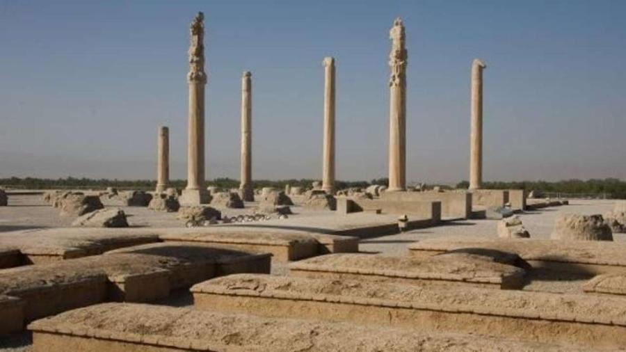 Древнеперсидский город Персеполис, Иран