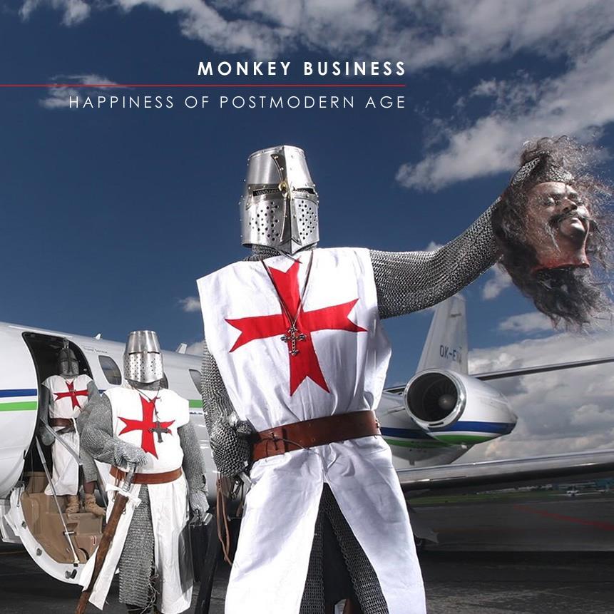 Monkey Business выпустила свой седьмой по счету альбом под названием - Happiness of Postmodern Age
