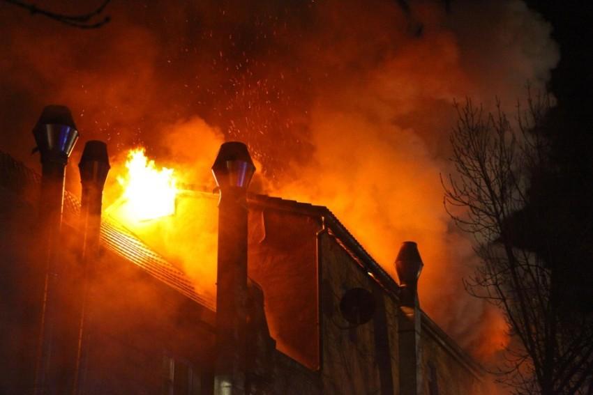 Пожар в Бакнанге