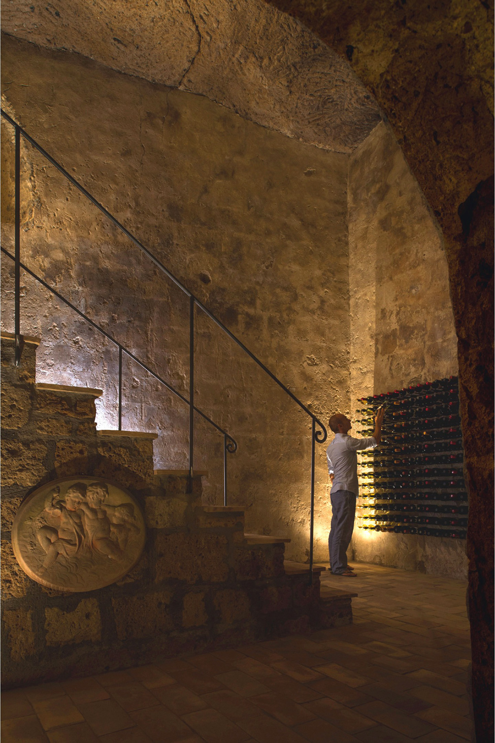 Domus Civita - резиденция в пещерах Чивита ди Баньореджо