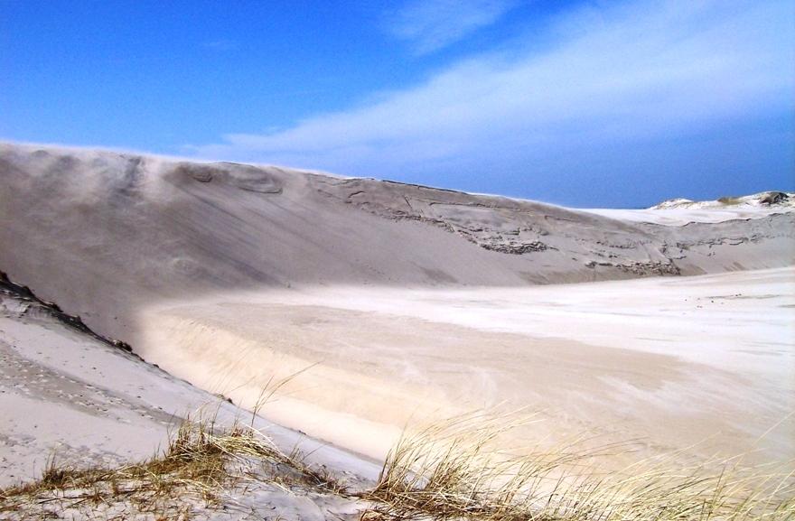 Песчаные дюны в Национальном парке