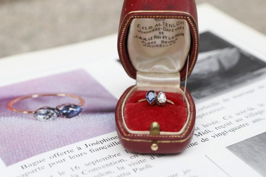 Обручальное кольцо, подаренное Жозефине Наполеоном
