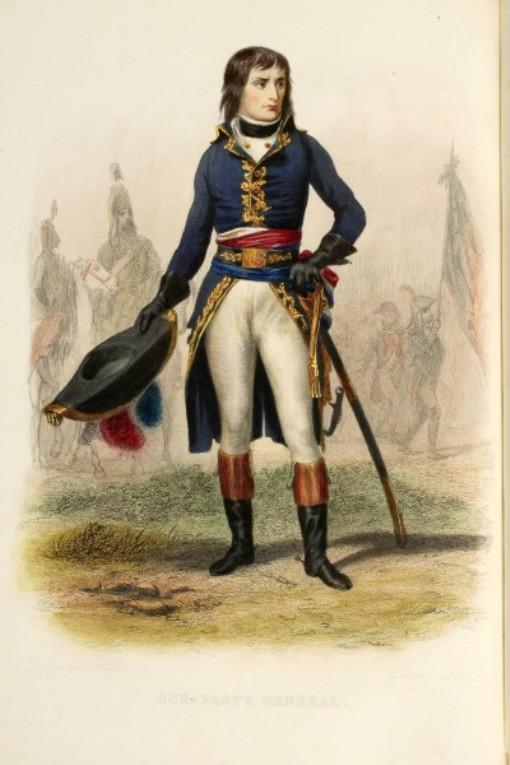 Молодой Наполеон Бонапарт