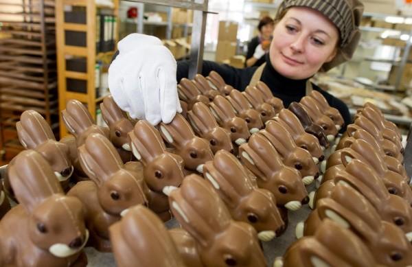 Немецкие пасхальные зайцы