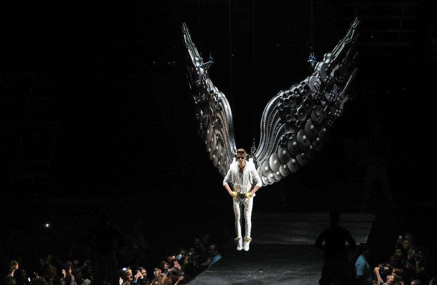 Выступление Джастина Бибера в Лондоне