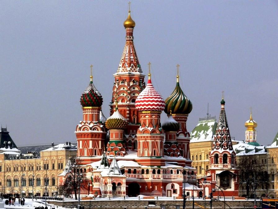 Собор Василия Блаженного - самые красивые места России