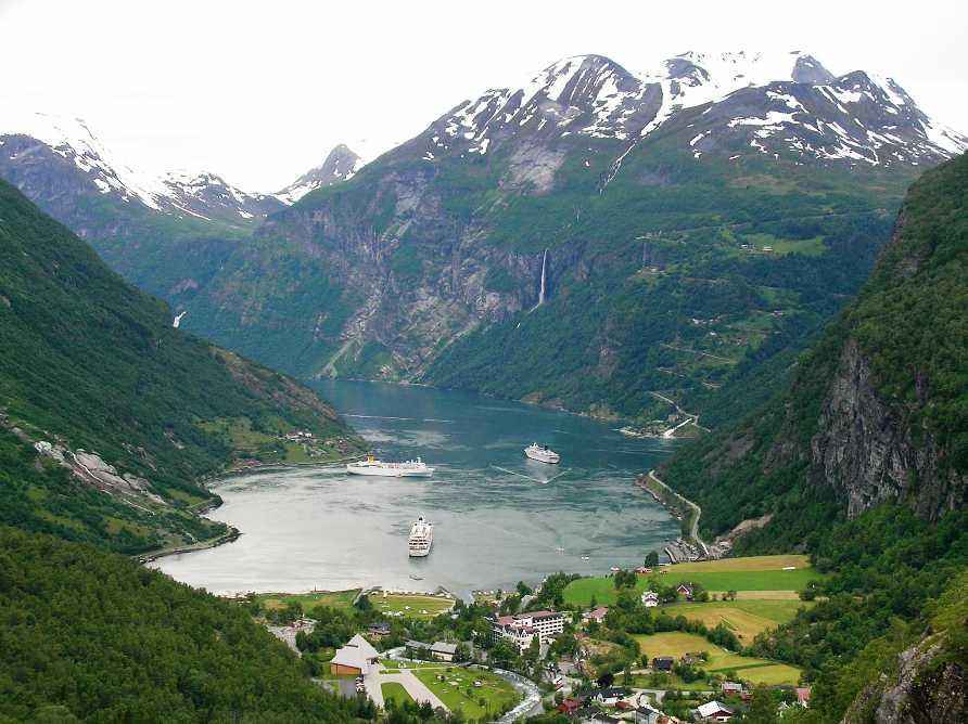 Geirangerfjord -  Гейрангер