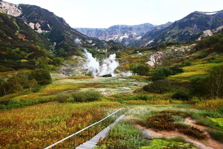 Долина Гейзеров на Камчатке - самые красивые места России