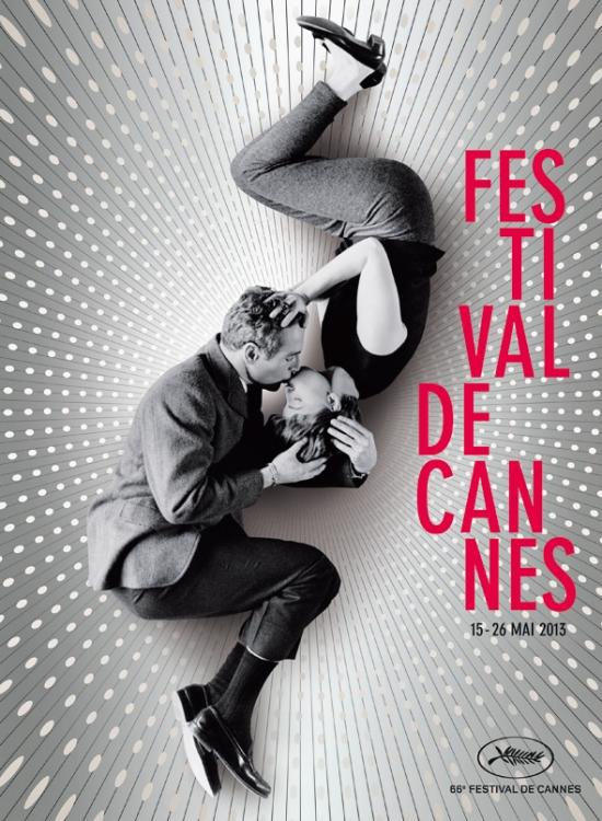 Пол Ньюман и Джоан Вудворд на постере Каннского фестиваля