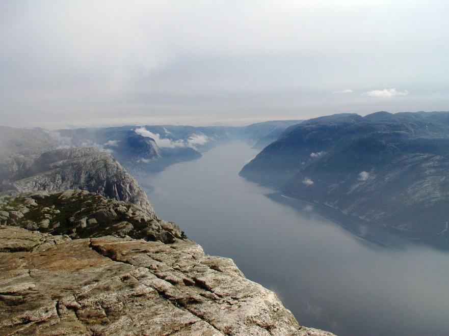 Lysefjorden - Люсефьорд