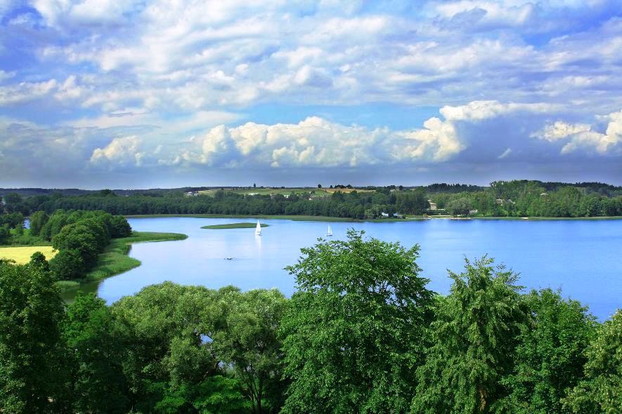 Мазурское озеро
