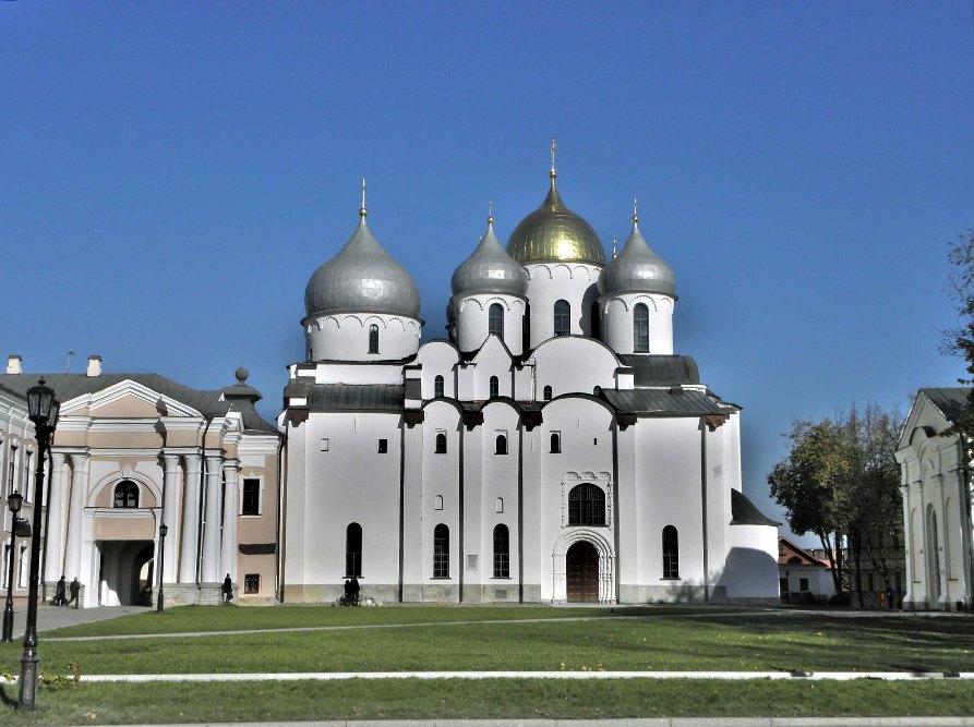 Софийский собор в Великом Новгороде - самые красивые места России
