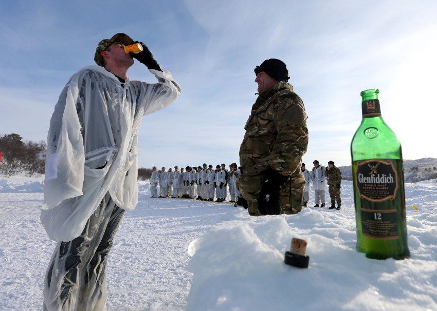 Британские солдаты в Норвегии