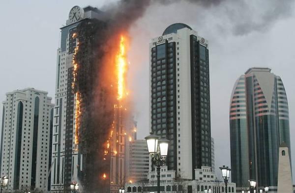 """Пожар в небоскрёбе """"Олимп"""""""
